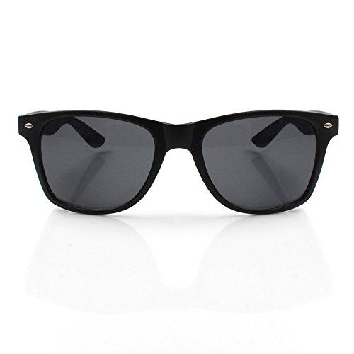 Accessoryo Classique Avec Teintés Style De Soleil Lunettes Noirs De Noir Wayfarer Verres Mat qSzCrnq