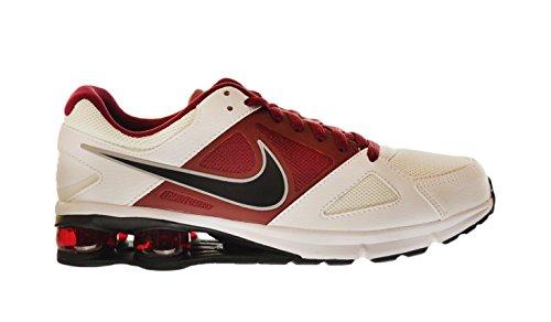 Santo pantalones Donación  Nike Air Shox 2013 Men's Shoes White/Bla- Buy Online in Bahamas at  Desertcart