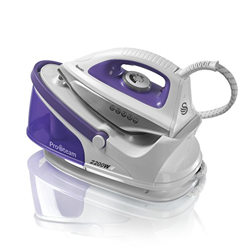 Swan SI11010N Steam Generator Iron with Ceramic Soleplate and 100g/min...