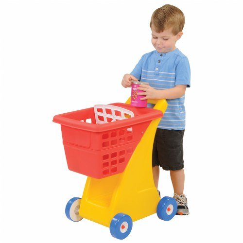Little Tikes Shopping Cart with Deep Basket and Storage Below by Little Tikes