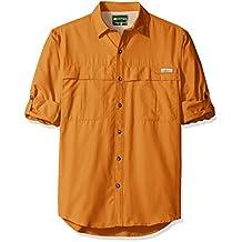 GH Bass Men's Long Sleeve Explorer Solid Shirt
