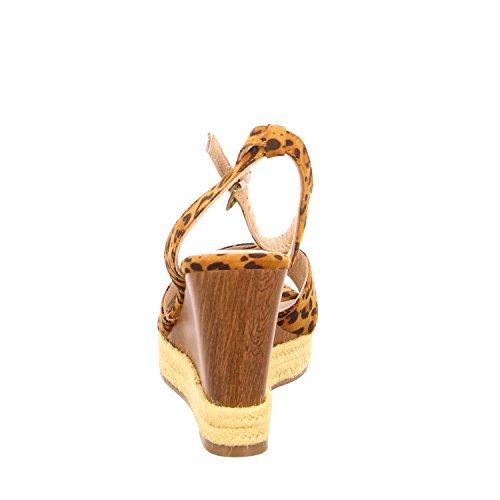 Sandaletten Braun