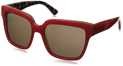 D&G Dolce & Gabbana Women's 0DG4234 Square Sunglasses,Top Opal Lobster/Leopard,57 - D&g 2014 Sunglasses