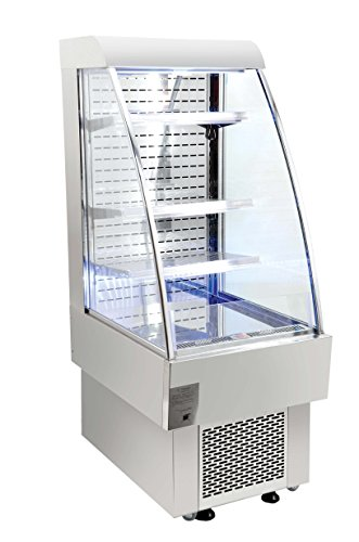 """Omcan 40438 Commercial Open Air 8.1cf 24"""" Refrigerated Gr..."""