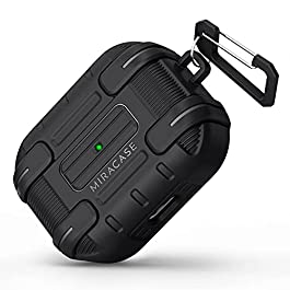 Miracase Warrior AirPods Pro Case Cover, [Military Grade Drop Tested] Shockproof Protective AirPods Pro Case with…