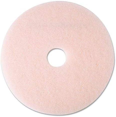 3M Ultra High-Speed Eraser Floor Burnishing Pads 3600 21-Inch Pink