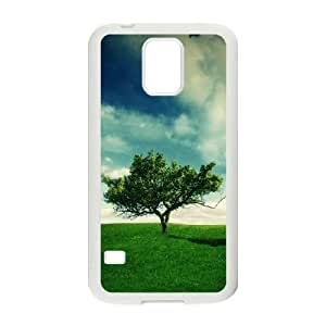 Summer Landscape Samsung Galaxy S5 Cell Phone Case White DIY GIFT pp001_8119747