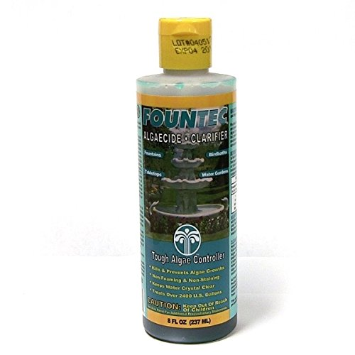 Fountain & Water Feature Water Treatment McGrayel Co. Fountec Fountain Algaecide Clarifier 8 OZ by Pond Liner