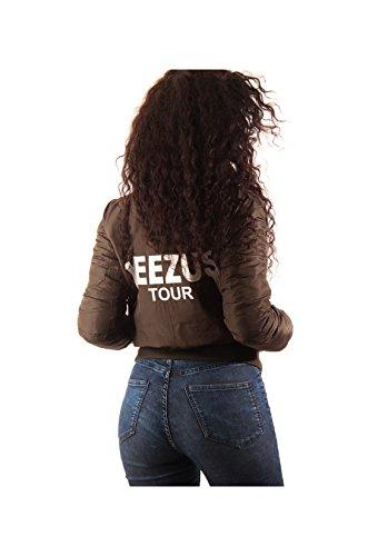 Custom Yeezus Bombers Noir Blouson Magic Yeezus Femme dOqdfx