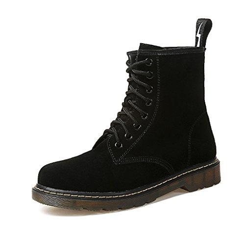 Women's Martin boots autumn and winter students retro fla...