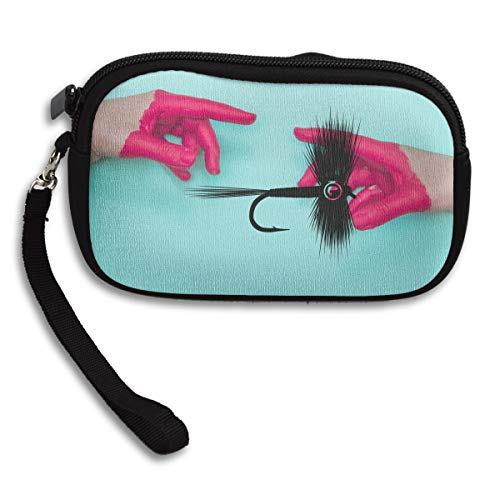Printing Receiving Lure Bag Portable Deluxe Fishing Small Fly Purse BqptxS