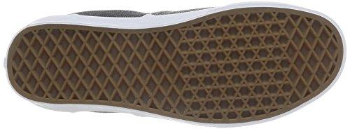 Bestelwagens Passend Mix Enkellaar Skateboarden Schoen Zwart / Echt Wit