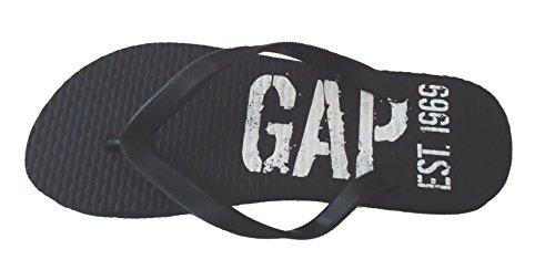 Gap Flip Flops Sandaler Tilfeldige Eller Strand Ha Svart