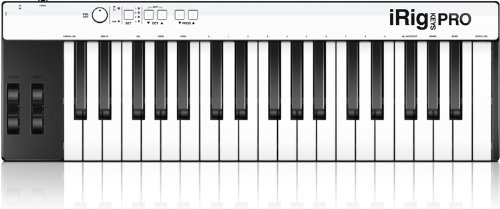 IK Multimedia iRig Keys Pro full-sized 37-key MIDI controller for iPhone, iPad and Mac/PC