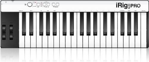 IK Multimedia iRig Keys Pro full-sized 37-key MIDI controller for iPhone, iPad and Mac/PC