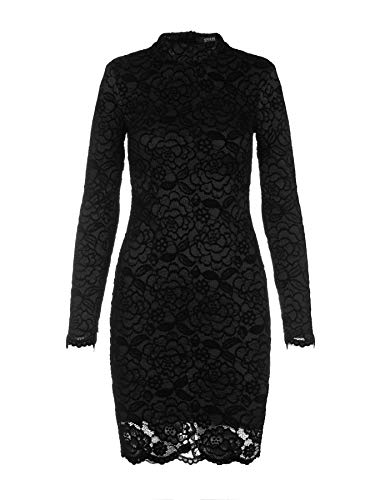 Pizzo In S Guess Black Tg Vestitino Donna wFxEqAPt