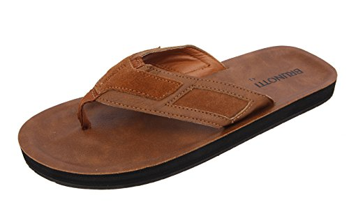 Brunotti Zehentrenner tide men slipper brown