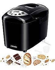 Broodbakmachine, 15 programma's, lcd-display, timer, 850 watt, accessoires, broodbakmachine, broodbakker, broodmachine, broodmachine, broodmachine