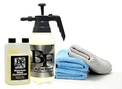 Blackfire Waterless Wash Kit
