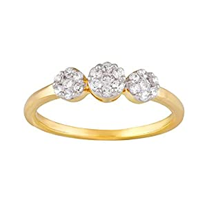 Giantti Daily Wear Women's 14KT Diamond Ring - IGL Certified ( 0.253 Ct, I1 Clarity, GH-Colour)