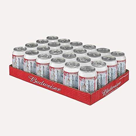 Cerveza Americana Budweiser 24x33cl (PACK-24 LATAS): Amazon.es ...