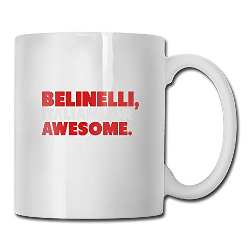 Marco Belinelli Shirt Tea Cup Novelty Gift for Friends