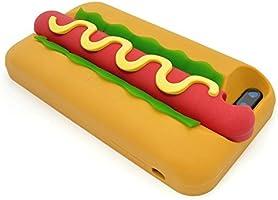 ac21bc30de Hot Dog iPhone 7 Plus Case & iPhone 8 Plus Case, Cute 3D Cartoon Hamburger.  Loading Images.