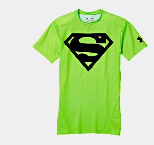 6ac160121b12 Under Armour Men's Alter Ego Compression Shirt Superman In Hyper Green,  MEDIUM, NEW! at Amazon Men's Clothing store: Other Products