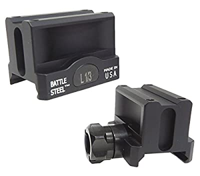 Battle Steel Trijicon MRO Lower 1/3 Co-Witness Mount from Kley-Zion