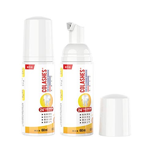 MChoice❤️Tooth Stains Removal Bad Breath Removal Fresh Mouth Care Foam Toothpaste 60Ml]()