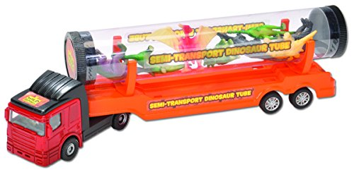 Wild Republic Dino Tube Transport Playset (Republic Tube Wild)