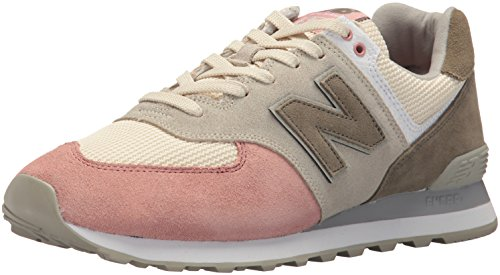 New Balance Men's 574v2 Serpent Luxe Sneaker, Bone with Dusted Peach - 8.5 D(M) US (Best Price Mens New Balance 846)