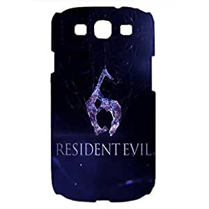 Samsung Galaxy S3 Case Cover,Samsung Galaxy S3 Phone Case,The Resident Evil Logo Phone Case For Samsung Galaxy S3