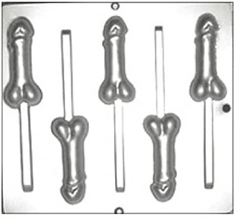 Penis Lollipop Chocolate Candy Mold 782