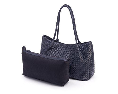 SageBrown Cassidy Slouchy Bag Navy Woven 0znArq08