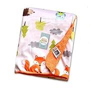 Kleitung Double-sided velvet / Child Flannel Plush Blankets / baby silky soft Fleece Throw Blanket / All Seasons Plush Blanket /Toddler Plushy Security Blanket (fox)