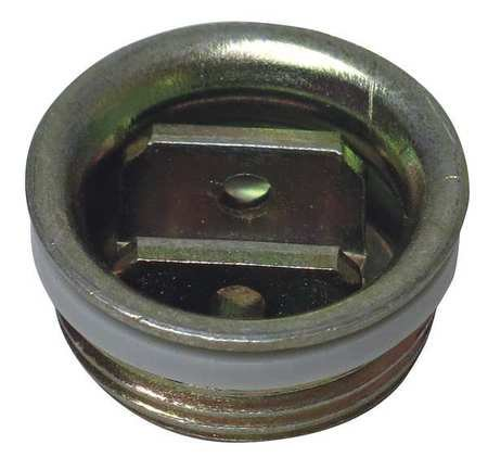 Drum Plug, Round Head, 3/4 In., Steel, PK10 ()