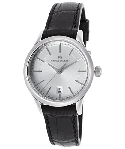 maurice-lacroix-womens-lc1113-ss001130-les-classiques-silver-date-dial-watch