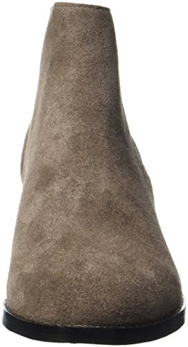 Buffalo Damen 416-5201 Cow Suede Stiefel Grau (Grey 01)