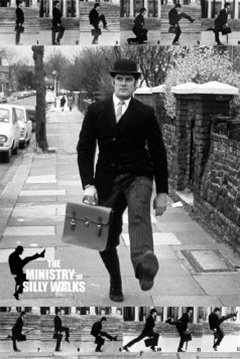 Monty-Python-Silly-Walks-John-Cleese-Humour-Poster-24-x-36-inches