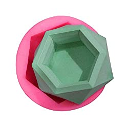Candle Molds - Diamond Shaped Surface Succulent Pl
