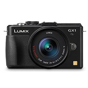 Panasonic Lumix DMC-GX1K 16 MP Micro 4/3 Mirrorless Digital Camera with 3-Inch LCD Touch Screen and 14-42mm Zoom Lens…