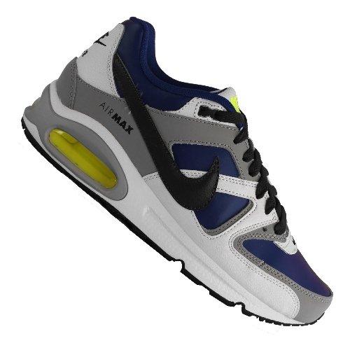 Nike Air Max Command (GS) - Zapatillas para niño, color blanco / gris / azul / negro