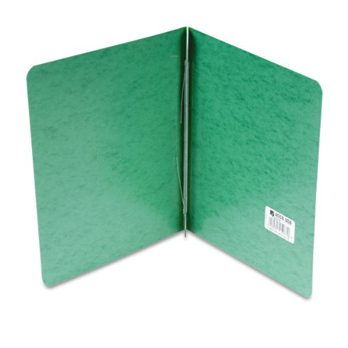 ACCO PRESSTEX Report Cover, Side Bound, Tyvek Reinforced Hinge, 8.5 Inch Centers, 3 Inch Capacity, Letter Size, Dark Green (A7025076A) (Acco Presstex Side Binding)
