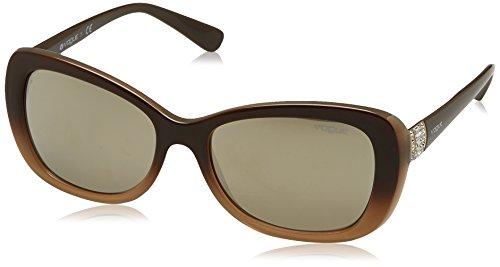 01140cdf1f8a7 Ray-Ban Women s Plastic Woman Non-Polarized Iridium Oval Sunglasses