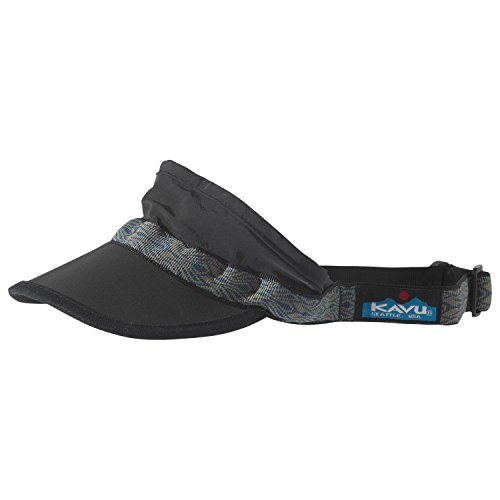 KAVU Synthetic Strapvisor Black, One Size