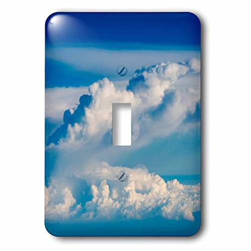 Danita Delimont - Clouds - Aerial view of clouds, Indonesia - Light Switch Covers - single toggle switch (lsp_225818_1) by 3dRose