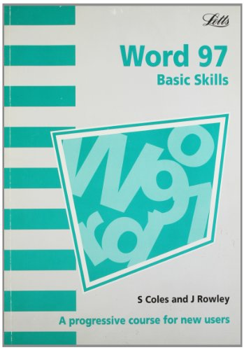 microsoft word 97 basic skills a progressive course for new 読書