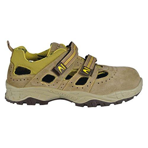 Cofra 22220-001.W42 Tent S1 P SRC Chaussures de sécurité Taille 42 Kaki