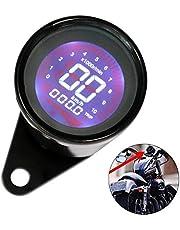 Romacci Universal 12 V Motocicleta Instrumento Modificado Digital Moto Velocímetro Tacômetro Medidor Display LCD (7 cores) 0-10000RPM 0-199KM / H